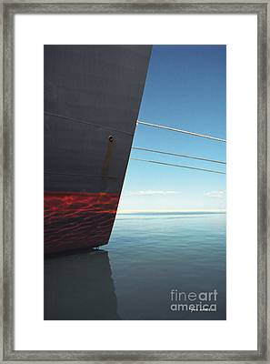 Call Of The Distant Shores Framed Print by Marc Nader