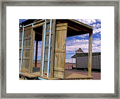 Call Of The Lost Saloon 3  Framed Print