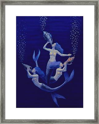 Call Of The Mermaids Framed Print
