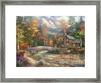 Call Of The Wild Framed Print by Chuck Pinson