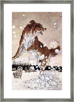 Call Of The Wild Framed Print by Granger
