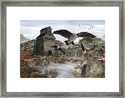 Call Of The Wild Framed Print by Jim Olheiser