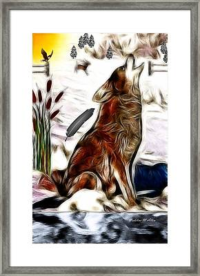 Call Of The Wild Framed Print by Madeline  Allen - SmudgeArt