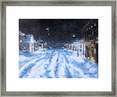 Call Out The Plows Framed Print