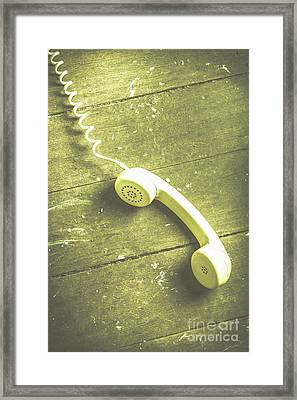 Call That Never Came Framed Print by Jorgo Photography - Wall Art Gallery