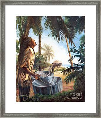 Call To Paradise Framed Print by Mike Massengale
