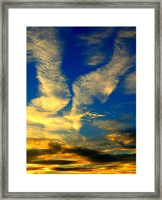 Call To The Sky Framed Print