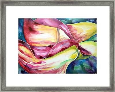 Calla Lillies Framed Print