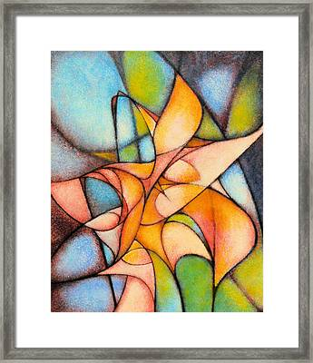 Calla Lillies Framed Print