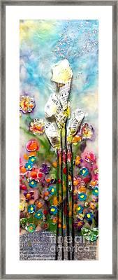 Calla Lily Dance Framed Print
