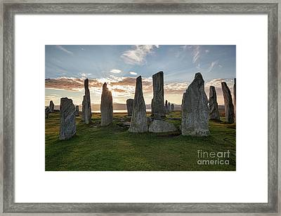 Callanish, Isle Of Lewis IIi Framed Print by Colin and Linda McKie