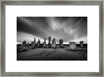 Callanish Stones 1 Framed Print by Dave Bowman