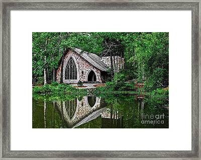 Callaway Gardens Ida Cason Chapel Framed Print
