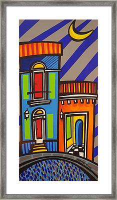 Calle Luna Framed Print