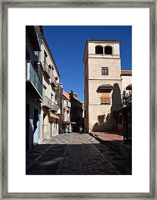 Calle San Agustn,malaga City Framed Print by Panoramic Images