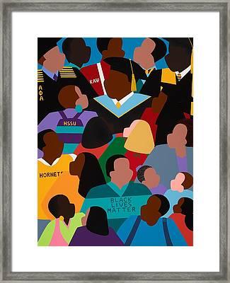 Called To Serve Inspiring Change Framed Print