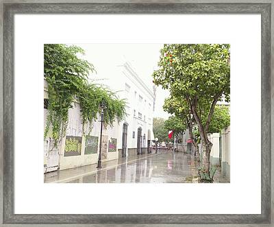 Callejon Amor, Ponce, Puerto Rico Framed Print