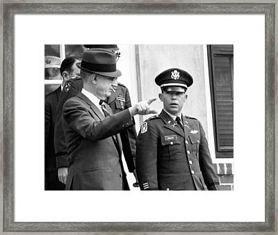 Calley My Lai Court Martial Framed Print by Underwood Archives