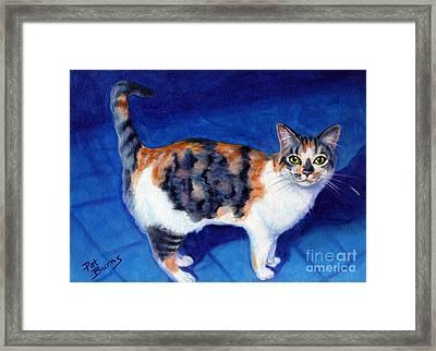 Callie Framed Print by Pat Burns