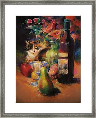 Callie Framed Print