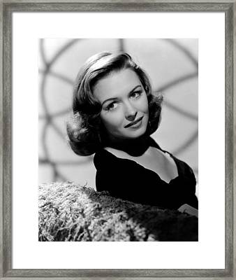 Calling Dr. Gillespie, Donna Reed, 1942 Framed Print by Everett