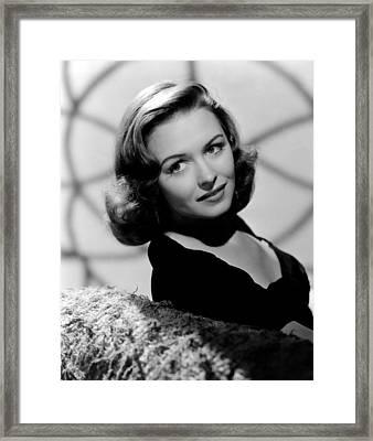 Calling Dr. Gillespie, Donna Reed, 1942 Framed Print