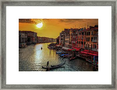 Calling It A Day Framed Print by Andrew Soundarajan