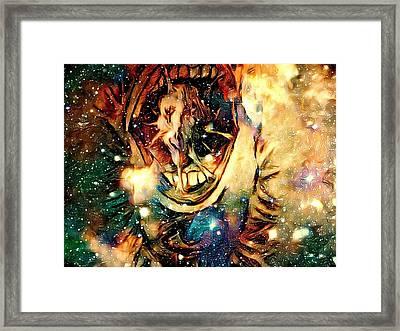 Calling Of The Gods Framed Print by Joshua Massenburg