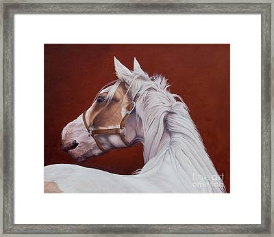 Calling Framed Print by Pauline Sharp