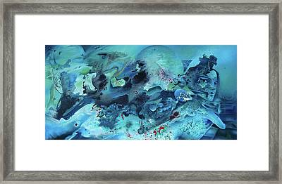 Calling The Ancients Framed Print by Nathan Rice