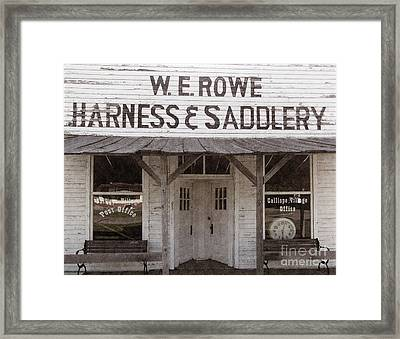 Calliope Village  Framed Print