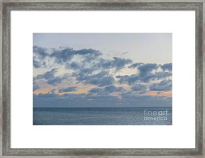 Calm After Sunset Framed Print