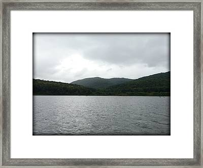 Calm And Cool Framed Print by Lesli Sherwin