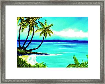 Calm Bay #53 Framed Print by Donald k Hall