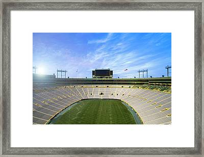 Calm Before The Game Framed Print by Joel Witmeyer