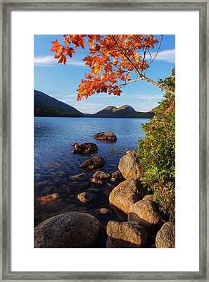 Calm Before The Storm Framed Print by Chad Dutson