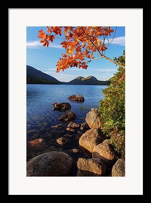 Acadia Framed Prints