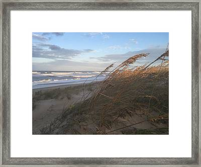Calm Before The Storm Framed Print by Nicki Clark