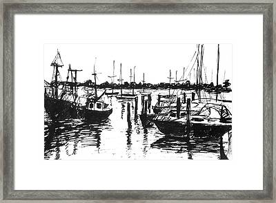 Calm Morning Framed Print