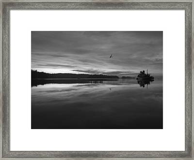 Calm Morning  Framed Print by Mark Alan Perry
