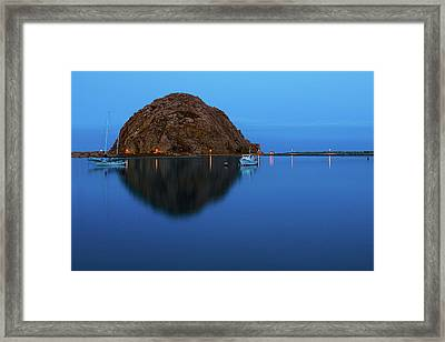 Calm Morning, Morro Bay, California Framed Print