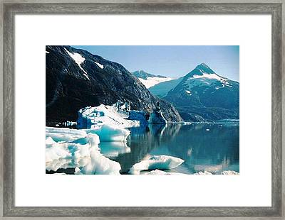 Calm Portage Framed Print
