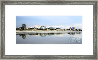 Calm Reflections Of Amelia Framed Print by Scott Moore