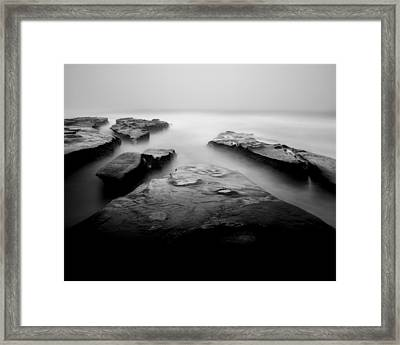 Calm Seas Framed Print by Joseph Smith