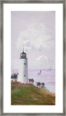 Calm Seas Framed Print by Trilby Cole