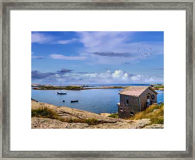Calm Summer Day In Prospect Framed Print