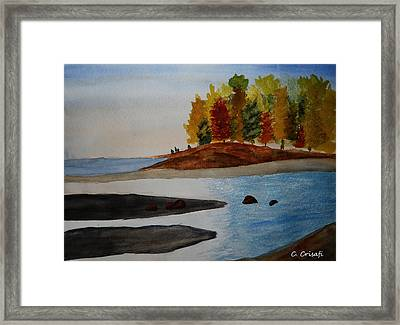 Calm Tide Framed Print