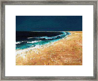 Calming Waters Framed Print by Frances Marino