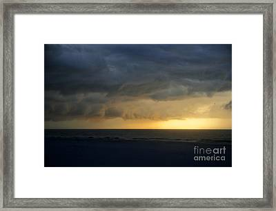 Calusa Sunset Framed Print