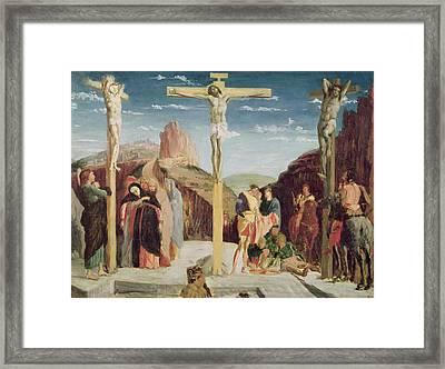 Calvary Framed Print by Andrea Mantegna
